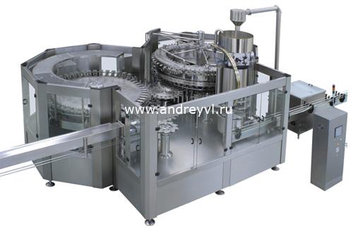 Оборудование для розлива жидкостей в ПЭТ тару